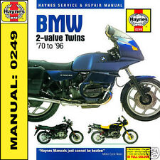 Bmw R45 R50 R65 R75 R80 R100 R100rt 1970-1996 Haynes Manual 0249 Nuevo