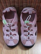 Lands' End Beach Trekkers Youth Hiking/Sport Sandals Shoes #287976~Size 2Y~Pink