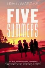 Five Summers by Una LaMarche (2014, Paperback)