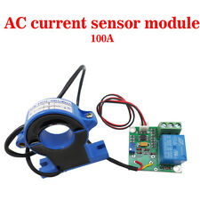 (Working DC24V) 100A AC Current Sensor Module Detection Module Switch Output