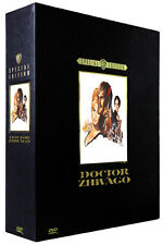 """DR ZHIVAGO"" (Omar Sharif) Deluxe DVD Box Set - BRAND NEW - Rare & Deleted"