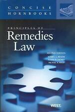 Principles of Remedies Law by Russell L. Weaver, Elaine W. Shoben, Michael B....