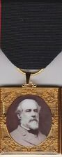 Robert E. Lee Remembrance Civil War Medal w/ 3 Interchangeable Medal Drapes