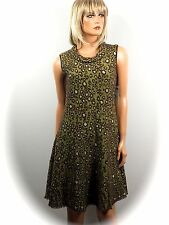 MARCCAIN COLLECTIONS ~ STYLISCHES KLEID  / ANIMAL  LOOK  Gr. N3/38