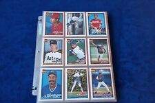 1991 TOPPS TRADED SET WITH JEFF BAGWELL-IVAN RODRIGUEZ-JASON GIAMBI R.C.