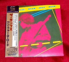 KINKS One For The Road JAPAN AUTHENTIC SHM MINI LP CD NEW OOP VICP-70013