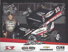"2015 DONNY SCHATZ ""BAD BOY BUGGIES"" #15  WORLD OF OUTLAW SPRINT POSTCARD"