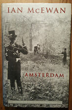 AMSTERDAM by Ian McEwan. First Printing / First Edition of Booker Prize winner