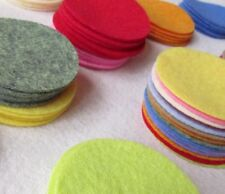 "128 Wool Felt 1"" Circle Die Cuts - UPICK Colors - Penny rug - Bow Making"