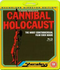 Cannibal Holocaust - Shameless UK Blu-ray - Region Free - Factory Sealed Blu-ray