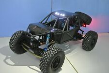 AXIAL RR10 BOMBER CARBON FIBER BODY SET WITH LED LIGHTS