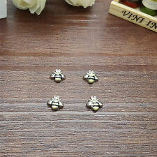 NEW FASHION NEW 4pcs Bee Floating Charm for Glass Living Memory Locket P405