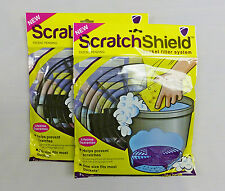 2 x Scratch Shield Grit Guard Filter for Car Wash Buckets