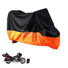 XXXL Motorcycle Storage Rain Cover For Harley Davidson Street Glide