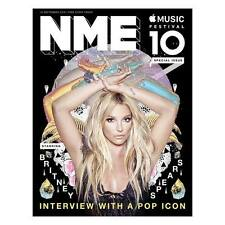 BRITNEY SPEARS - Interview With a Pop Icon UK NME MAGAZINE SEPTEMBER 2016