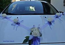 Elegante Decoración para coche lila/crema,Boda Novia,para Vestido de Novia,