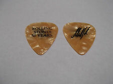 Rolling Stones 2013 Signature MIck Taylor 50 Years Guitar Pick Orange Pearloid