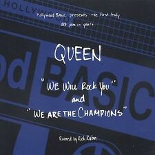 We Will Rock You / We Are the Champions Queen Audio CD
