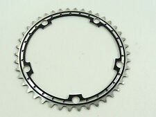 Black Chainring Anodized Rino 42T 144 Bcd Drilled Fits Campagnolo Cranksets NOS