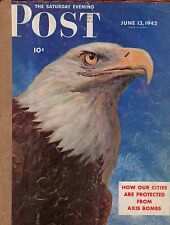 1942 Saturday Evening Post  June 13 - I escaped from Hong Kong;  Death Valley