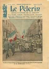 Fêtes du Triduum de Lisieux Reliques de Sainte Thérese France 1923 ILLUSTRATION