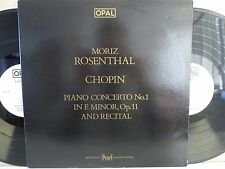 OPAL 812/3- MORIZ ROSENTHAL- Plays Chopin Piano Concerto No.1/Recital 2-LP (