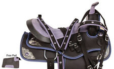 NEW 14 15 16 WESTERN BARREL RACING SADDLE PLEASURE TRAIL HORSE FREE TACK