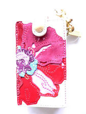 New Authentic COACH mini Ipod leather case....Poppy..#8818