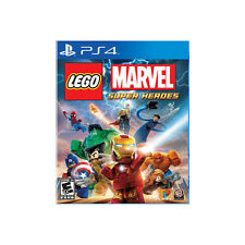 NEW PS4 LEGO Marvel Super Heroes (US) -Avenger Iron man Captain America 3