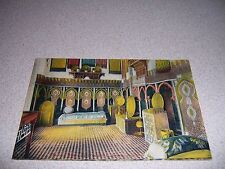 1910s MUSEUM of FURNITURE INTERIOR FES MOROCCO ANTIQUE POSTCARD