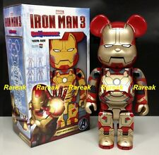 Medicom Be@rbrick 2013 Marvel Iron Man 3 400% Mark XLII 42 Normal ver Bearbrick
