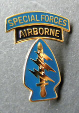 Special Forces Airborne Cap Hat Jacket Lapel Pin 1.1 inches