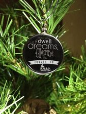 Harry Potter Saying doublesided Silver Ornament It does not do to dwell Black B1