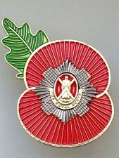Royal Scots Regimental Poppy Pins
