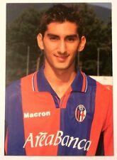 Cartolina Bologna Calcio 2001-02 Luigi Della Rocca