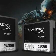 "Kingston HyperX FURY 120GB 2.5"" SATA III Internal SSD Solid State Drive G1V6"