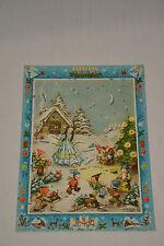 Adventskalender Antik Schneewittchen 7 Zwerge Snow White Dwarfs Advent Calendar