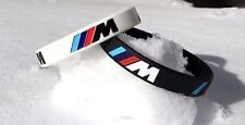 2 PCS SET OF BRAND NEW BMW M-PERFORMANCE SILICONE BRACELET - WRISTBAND