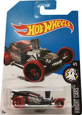 HOTWHEELS 4/5 FRIGHT CARS FANGULA TREASURE HUNT CAR TH T-HUNT SECRET HOT WHEELS
