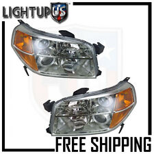 Headlights Headlamps Pair Left right set for 06-08 Honda Pilot
