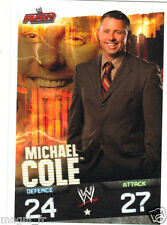 Slam Attax RAW - Michael COLE