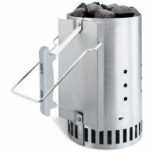 Weber Rapidfire Chimney Starter Charcoal Grill Smoker