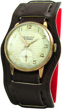 HISLON mano ascensore Uomo Orologio da polso vintage manual winding MEN 'S WATCH 17 JEWELS