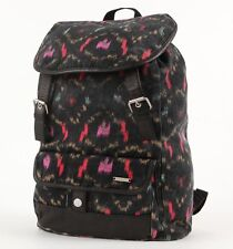 WOMENS GIRLS HURLEY ONE AND ONLY BLACK RUCSACK BACKPACK SCHOOL BAG NEW $55