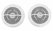 "Pair Rockville RMC65W 6.5"" 600 Watt Waterproof Marine Boat Speakers 2-Way White"