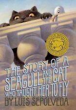 The Story of a Seagull and the Cat Who Taught Her to Fly-ExLibrary