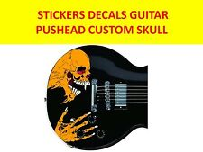 METALLICA PUSHEAD CUSTOM SKULL STICKERS VISIT OUR STORE WITH MANY MORE MODELS