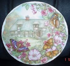 Royal Albert PURPLE EMPEROR AND GATE KEEPER Collectors Plate 1992