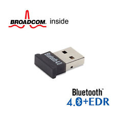 GMYLE UltraMini USB Broadcom BCM20702 Class 1.5 Bluetooth 4.0+EDR Dongle Adapter