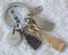 COACH~NYC Skyline Charms~Key Ring FOB & Dust Bag~NWT~Style# 62586~FREE SHIPPING!